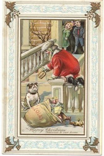 postales navidenas vintage 10