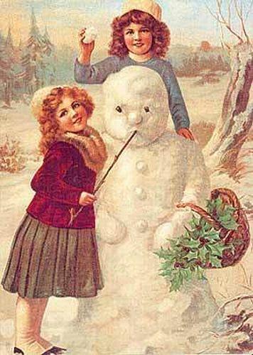postales navidenas vintage 11