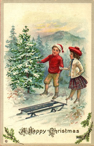 postales navidenas vintage 16