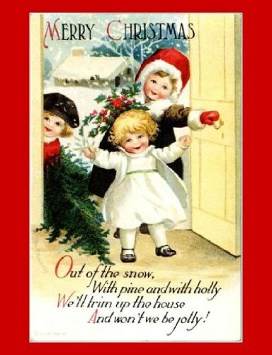 postales navidenas vintage 17