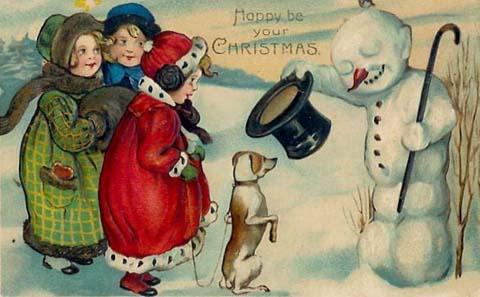 postales navidenas vintage 20