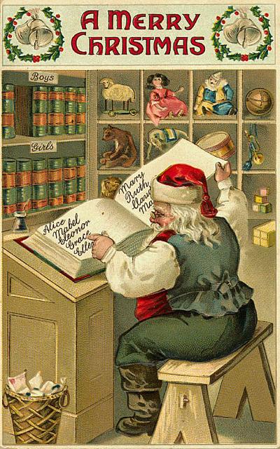 postales navidenas vintage 24