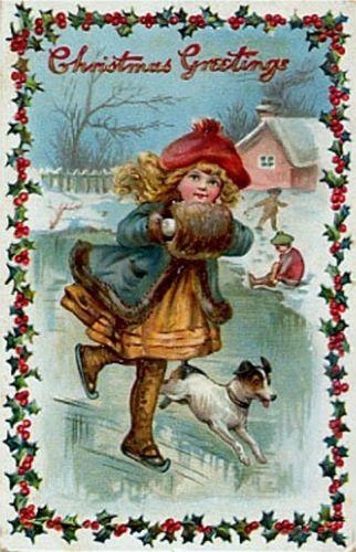 postales navidenas vintage 26