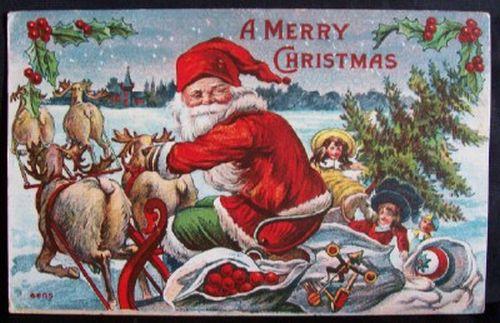 postales navidenas vintage 31
