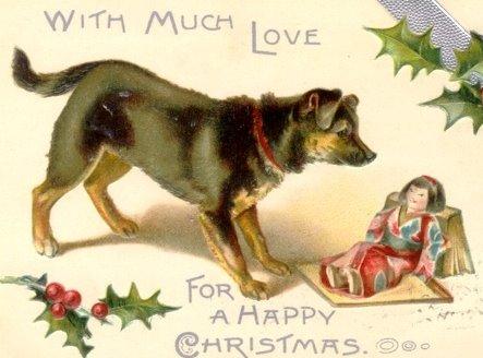 postales navidenas vintage 34