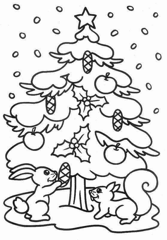 tarjetas navidad colorear 03