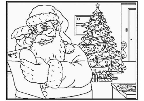 tarjetas navidad colorear 08