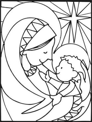 tarjetas navidad colorear 10