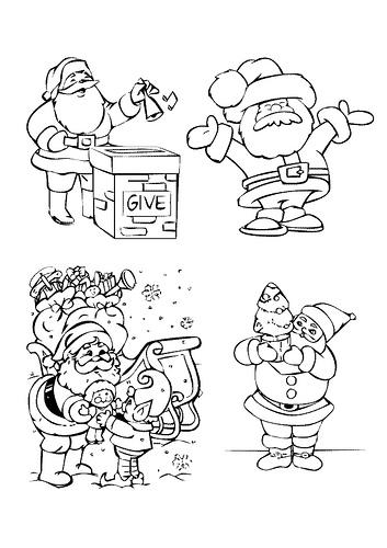 tarjetas navidad pintar 05