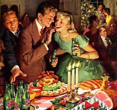 tarjetas navidad vintage 62