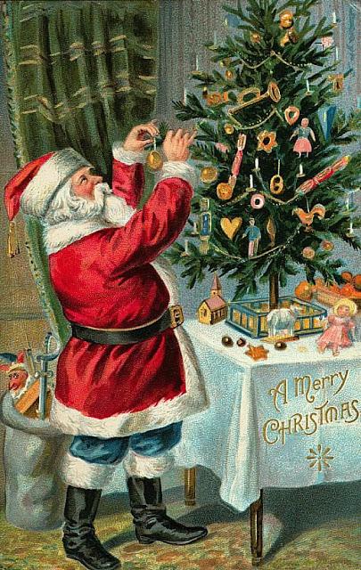 tarjetas navidad vintage 65