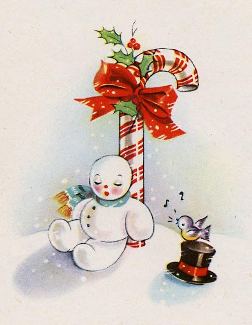 tarjetas navidad vintage 68