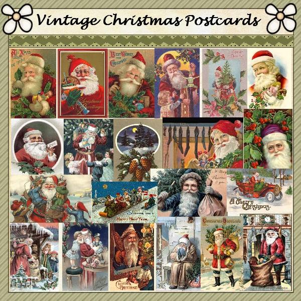 tarjetas navidad vintage 75