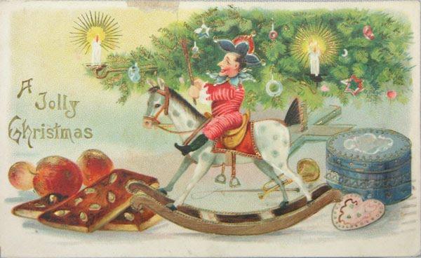 tarjetas navidad vintage 80
