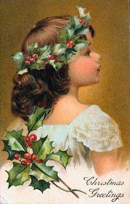 tarjetas navidad vintage 81