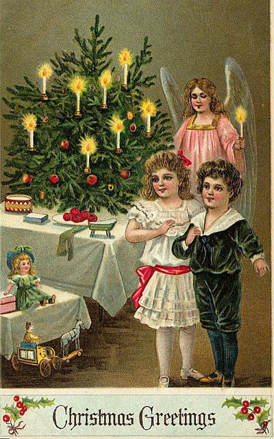 tarjetas navidad vintage 85