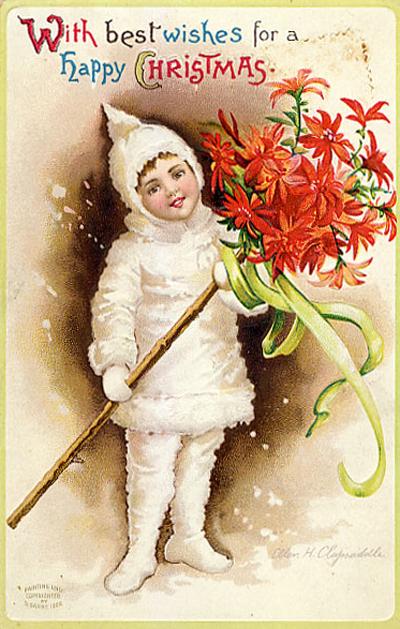 tarjetas navidad vintage 86