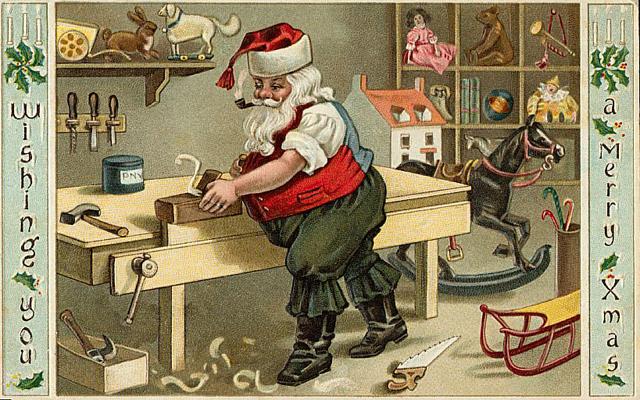 tarjetas navidad vintage 87