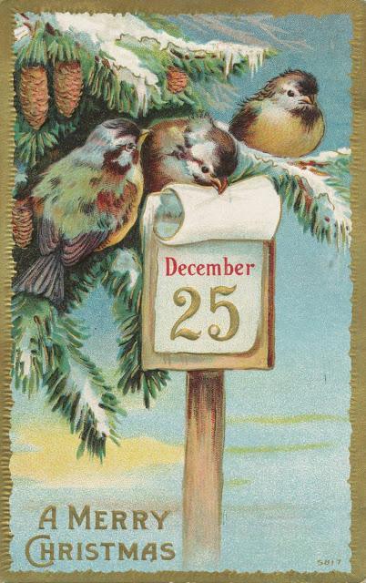 tarjetas navidad vintage 88