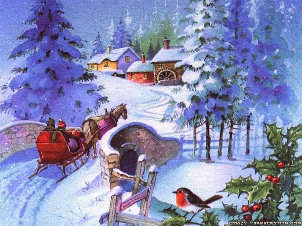 tarjetas navidenas vintage 12