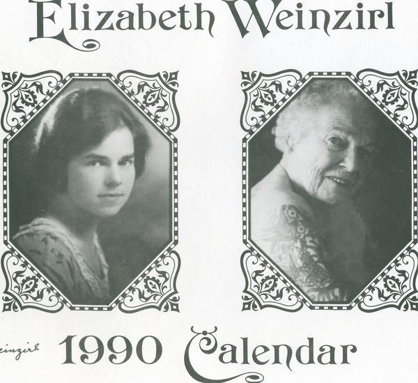 Elizabeth Weinzirl calendario