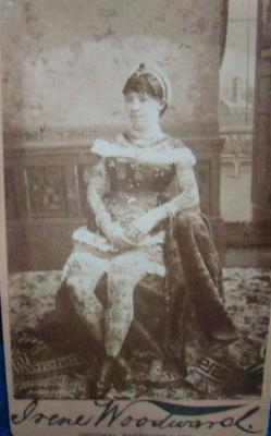 Irene Woodward 1880