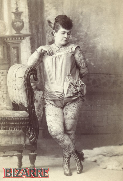 Nora Hildebrandt tatuajes