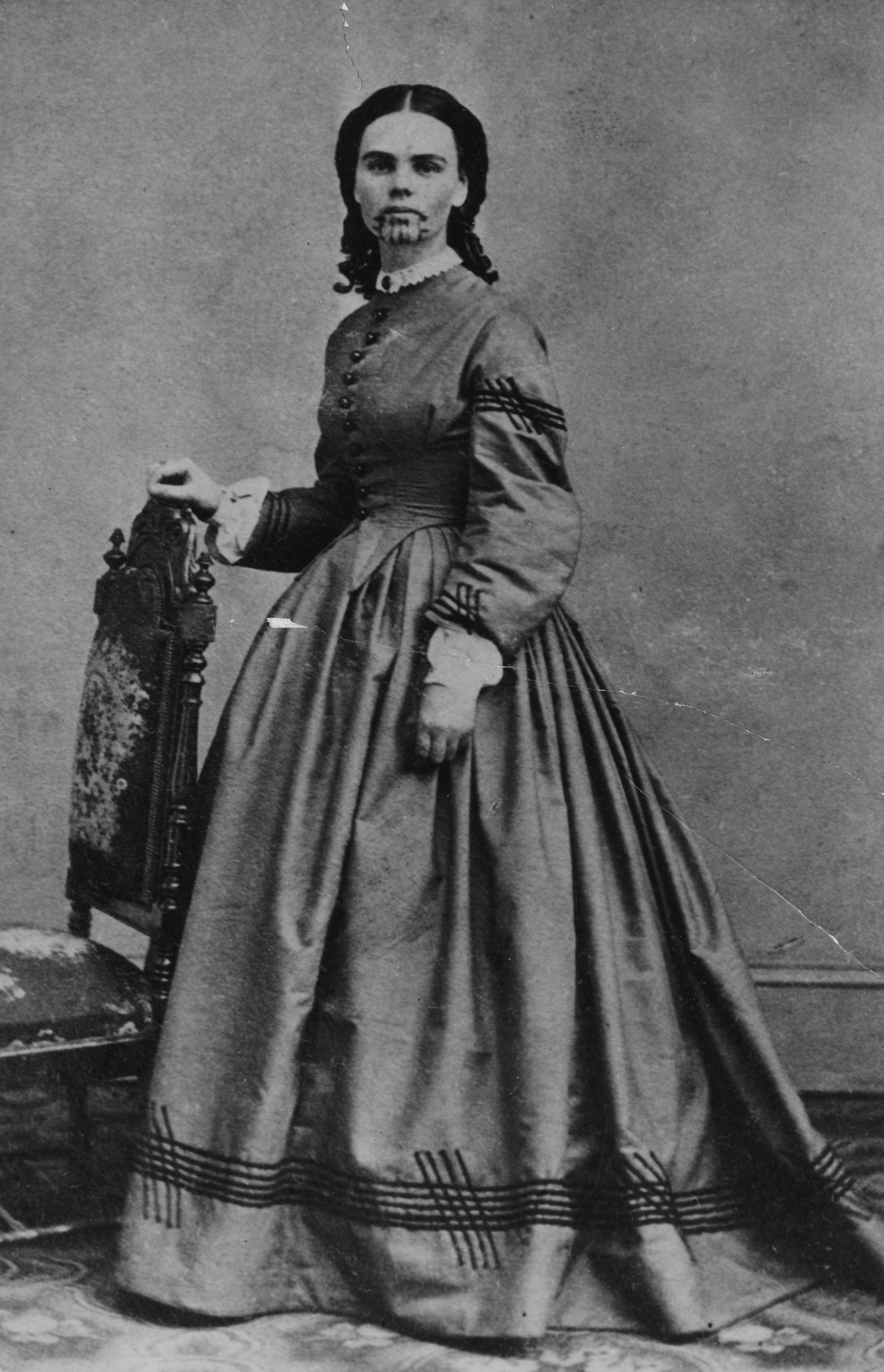 Olive Oatman 1858