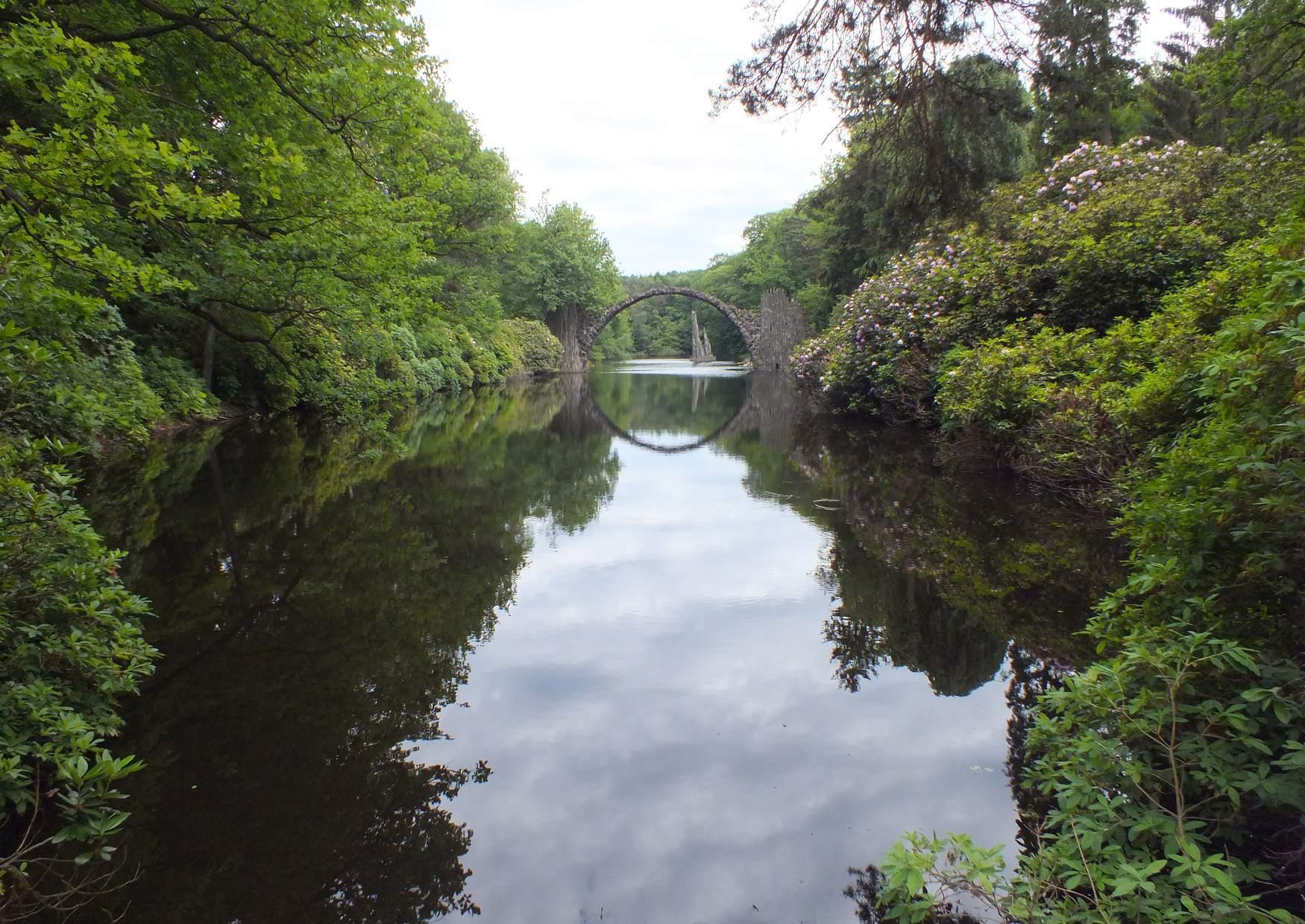 Parque Rhododendron Kromlau Alemania 17