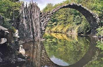Rakotzbrücke Parque Rhododendron