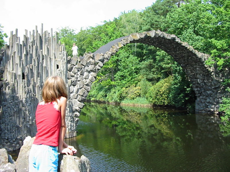 Rakotzbrücke Puente Rakotz