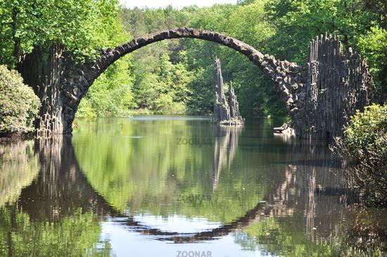 Rakotzbrucke Puente demonio Rakotz
