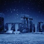 Stonehenge por la noche