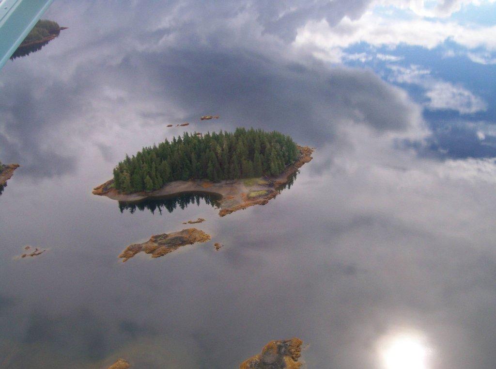 isla flotante alaska