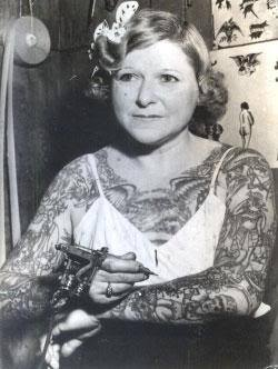 mildred hull tatuajes