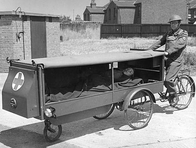 primer servicio ambulancia guerra
