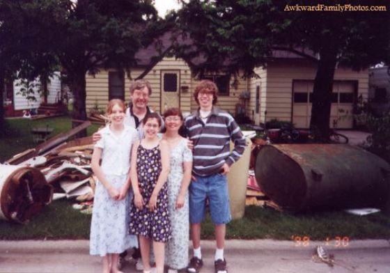 retratos familiares extranos 10