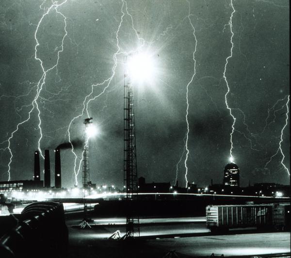 tormentas rayos Boston