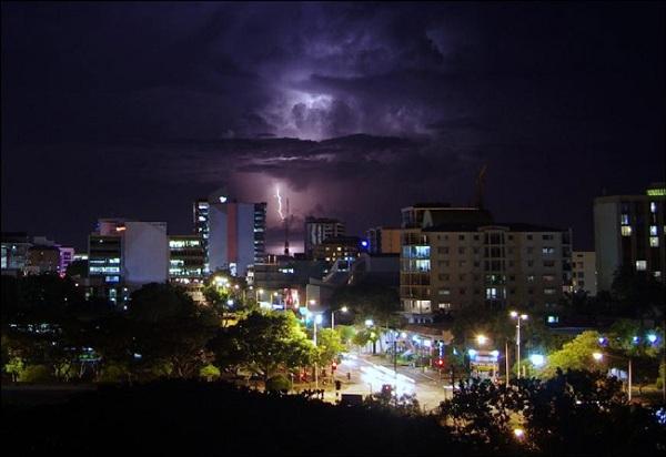tormentas rayos Darwin