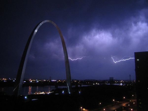 tormentas rayos Saint Louis