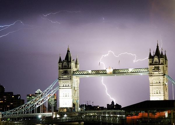 tormentas rayos londres