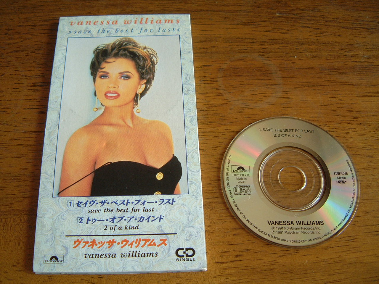 Vanessa Williams Save The Best For last japones