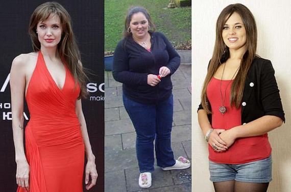 adelgazar perder peso angelina jolie