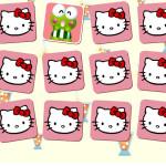 Encuentra las parejas de cartas de Hello Kitty