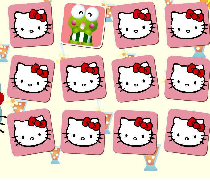 encuentra-parejas-cartas-hello-kitty