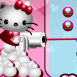 Hello Kitty rompe bolas