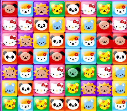 juego-combinar-tres-personajes-kitty