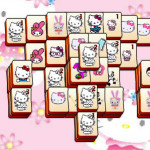 Mahjong con Hello Kitty