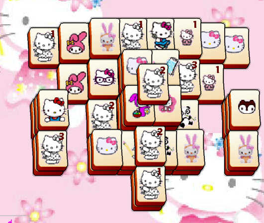 mahjong-hello-kitty