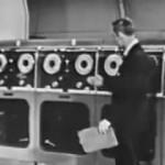 Ordenador de 1956 empleado en meteorología